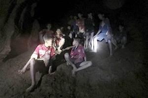 Missing Children U0026 39 S Soccer Team Found Alive In Thai Cave