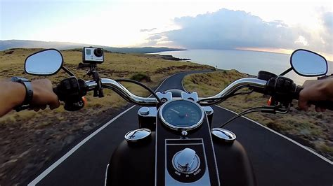 Road To Hana On A Motorcycle