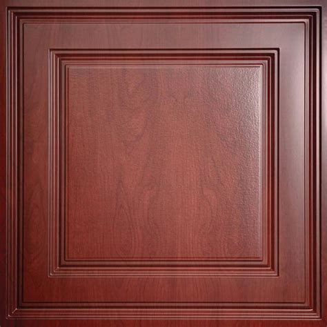 Ceilume Stratford Ceiling Tiles by Stratford Cherry Wood Ceiling Tiles