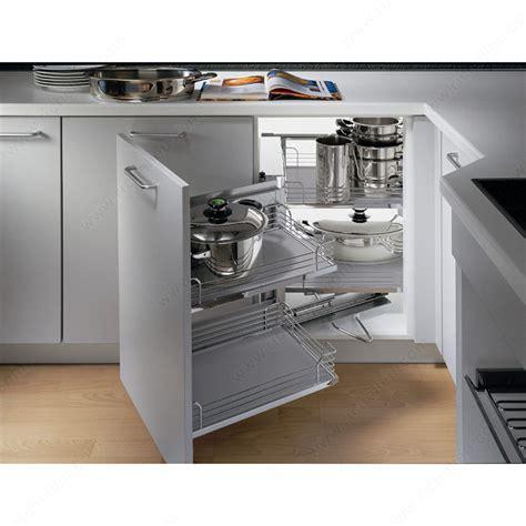 kitchen cabinet systems magic corner set with grey arena baskets richelieu hardware 2801