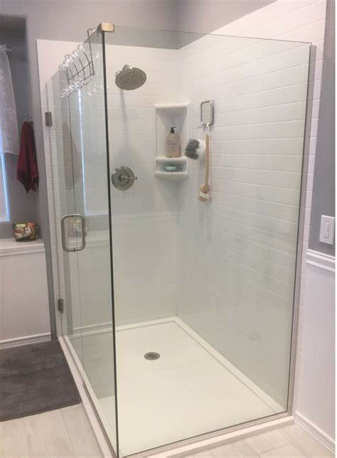 Shower Walls And Base by How To Choose The Right Shower Base Or Shower Floor Pan