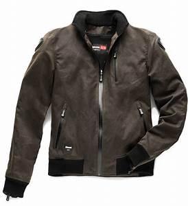 Blouson Moto Homme Textile : blouson blauer indirect textile marron kulture moto ~ Melissatoandfro.com Idées de Décoration