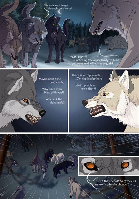 white comic page   white comic anime wolf