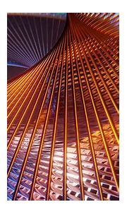 Brown Blue Lines Mesh Structure HD Abstract Wallpapers ...