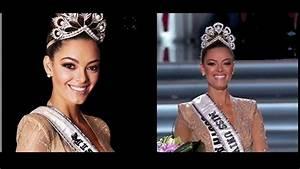 Vido La Sud Africaine Demi Leigh Nel Peters Lue Miss