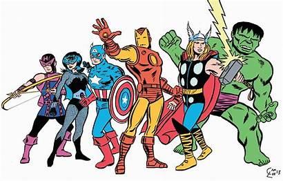 Clipart Avenger Comics Avengers Retro Comic Illustration