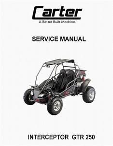 Carter Interceptor Gtr 250 Service Manual