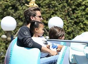 Scott Disick and North West Photos Photos - Kourtney ...