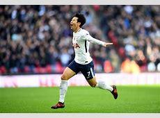 HeungMin Son nets secondhalf winner as Tottenham limp to