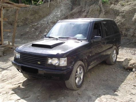 Range Rover Tuning Hood Scoop  Land Rover Forums Land