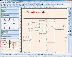 Electric  Power  Circuit  Diagram  Graphics  Draw  Source  Code  Vc   Library  Component  Tool