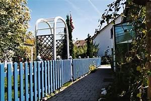 Gartenzaun Höhe Zum Nachbarn : gartenzaun aus holz selber bauen tipps von ihrem ~ Lizthompson.info Haus und Dekorationen