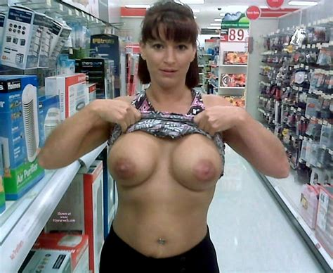 Wife Flashing Boobs At The Pharmacy June 2009 Voyeur Web Hall Of Fame