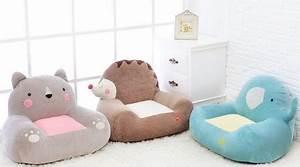 coussin pouf fauteuil canape pour enfant meuble With tapis chambre bébé avec canapé velours beige