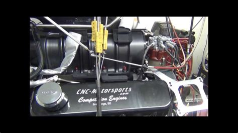 Bb Chevy 555 With 10/71 Blower, 1300+ Horsepower Built By