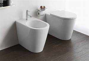 kartell by laufen floor standing wc combination rimless by With parquet wc