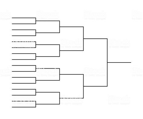 tournament bracket templates stock illustration