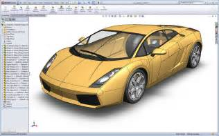 design blueprints for free it 39 s here the lamborghini gallardo solidworks surfacing tutorial solidsmack