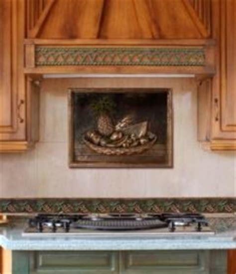 metal murals for kitchen backsplash backsplash with metal mural traditional kitchen 9152