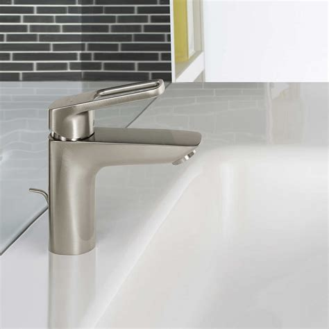 hansgrohe logis loop single hole bathroom faucet brushed