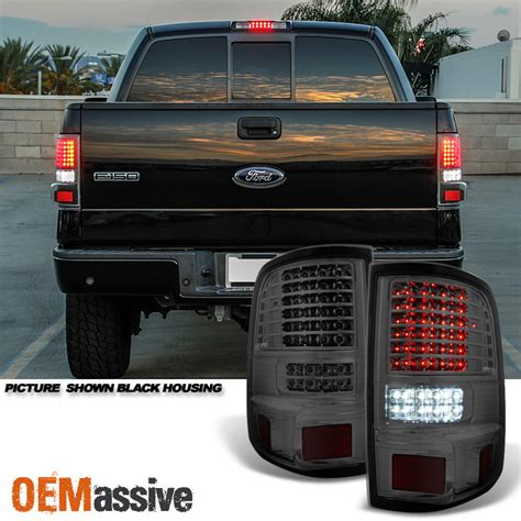 2005 ford f150 led tail 2004 2005 2006 2007 2008 ford f150 full led smoked tail