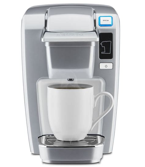 Keurig ® starter kit 50% off coffee maker: Keurig K15 Single Serve Compact K-Cup Pod Coffee Maker Only $49.99!