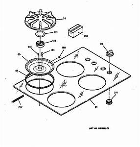 Ge Profile Gas Range Parts Diagram