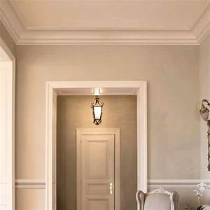Moulure cimaise de plafond luxxus orac decor pour deco for Couleur beige peinture murale 9 moulure cimaise de plafond luxxus orac decor pour deco