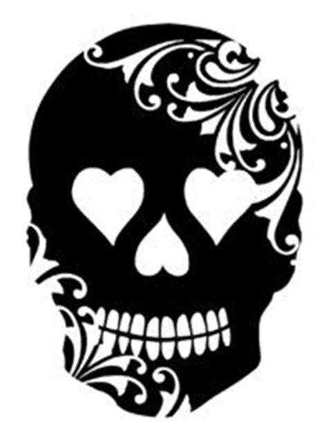 skull stencil ideas  pinterest skull