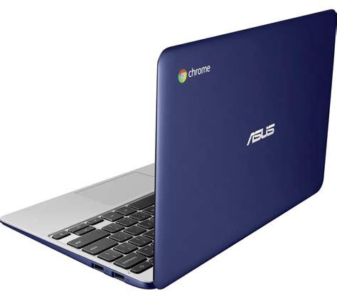 Blue Asus Chromebook