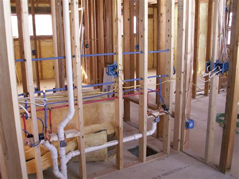 Building Plumbing by Building A House In Frederick County Call Putman Plumbing
