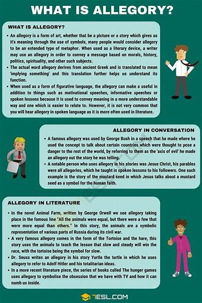 Allegory Examples Literature Definition Helpful English Conversation