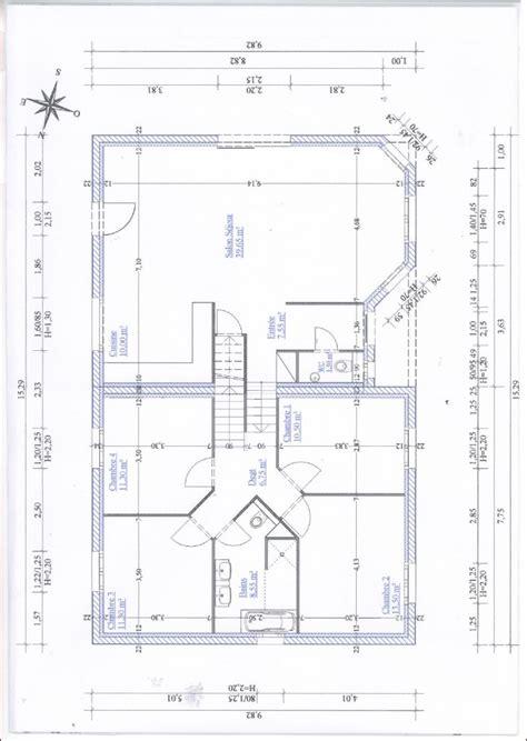 plan maison plain pied 4 chambres garage avis conseil plan maison 1 2 niveau 120 m2 avec 4 chambres