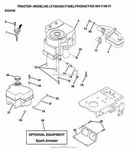 Ayp  Electrolux Lt150  1999  U0026 Before  Parts Diagram For Engine
