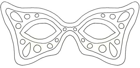 Masquerade Mask Template For Adults by 19 Free Mardi Gras Mask Templates For And Adults