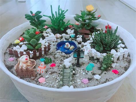vasi per piante fai da te come creare vasi fai da te con miniature e piante grasse