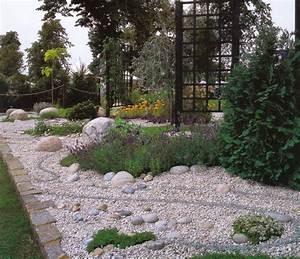 Faire Une Allée Carrossable : bordure maison cailloux finest jardin gravier comment ~ Premium-room.com Idées de Décoration