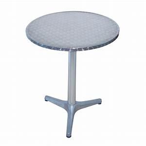 Tisch Rund 70 Cm : alu bistrotisch bistro tisch rund 60 cm h 70 cm ~ Bigdaddyawards.com Haus und Dekorationen