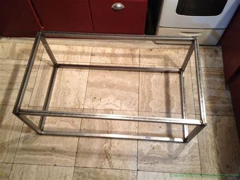 table basse bois metal atelier du bois