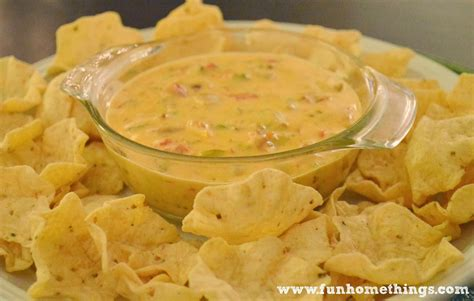 rotel cheese dip fun home things