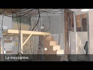 Faire Une Mezzanine : cr ation d 39 une mezzanine youtube ~ Melissatoandfro.com Idées de Décoration