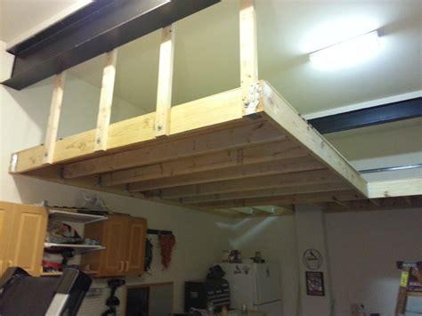 garage storage loft  matt  franklin  lumberjocks