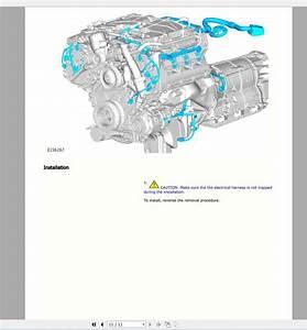 Landrover Ranger Rover 2019 Full Service Manual  Workshop