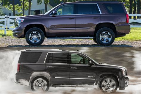2019 Chevrolet Tahoe Vs 2019 Gmc Yukon What's The