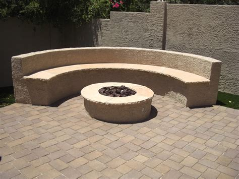 images of firepits pits designs backyard ideas outdoor fire pits fire pit and stucco bench benches outdoor