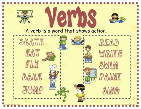 Verbs  Mrs Warner's 4th Grade Classroom