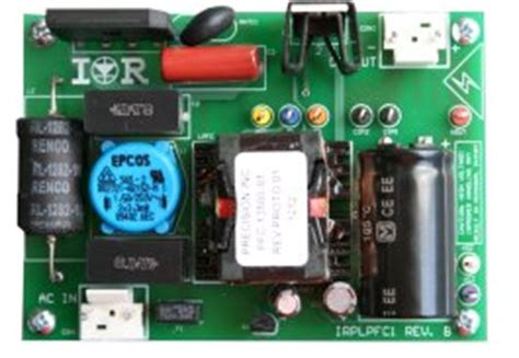 international rectifier irss pfc smps control ic
