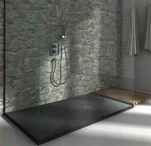 receveur de douche extra plat dimension 100x100 a 100x210 With wonderful quelle couleur dans les wc 14 pose de carrelage et faience