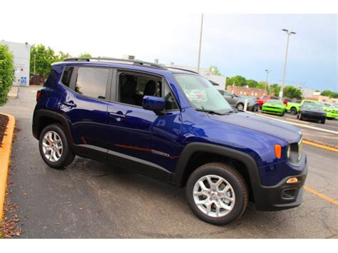 jeep renegade dark blue 2017 jeep renegade latitude 0 blue 4x4 latitude 4dr suv 9