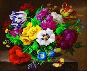 Beau Bouquet De Fleur : un beau bouquet de fleurs ~ Dallasstarsshop.com Idées de Décoration
